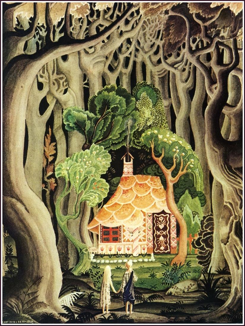 Old Tales Ornaments And Orientalism Meet Kay Nielsen